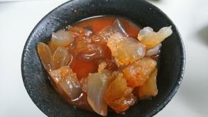 塩クラゲキムチ鍋風味